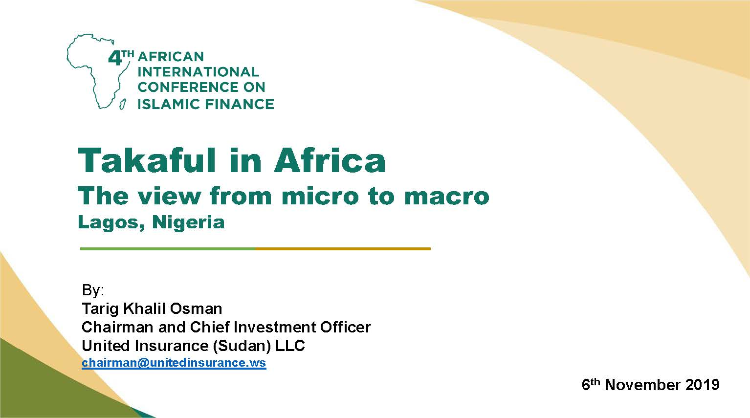 Cover of Takaful in Africa - The view from micro to macro
