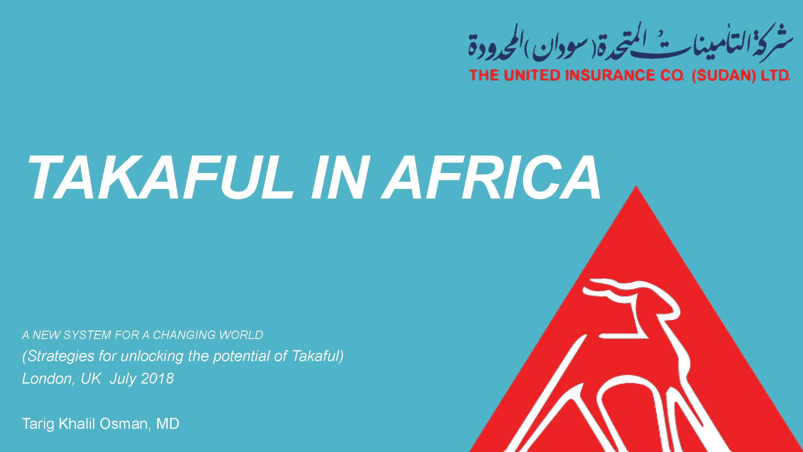 Cover of Takaful in Africa - A New System for a Changing World